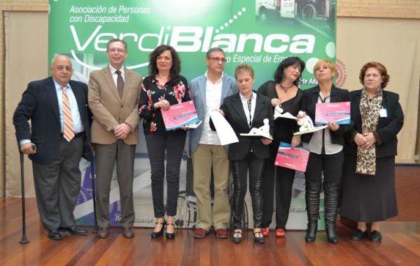 Verdiblanca ha hecho entrega de las Distinciones Minerva a cuatro trabajadoras