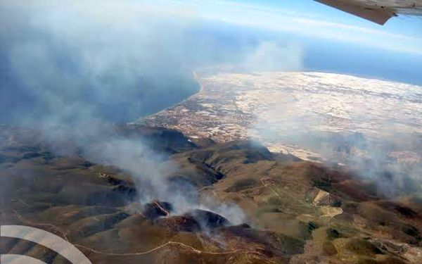 Incendio Sierra Gádor