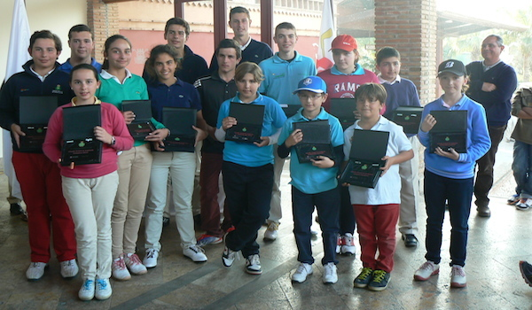 Golf circuito Andalucía