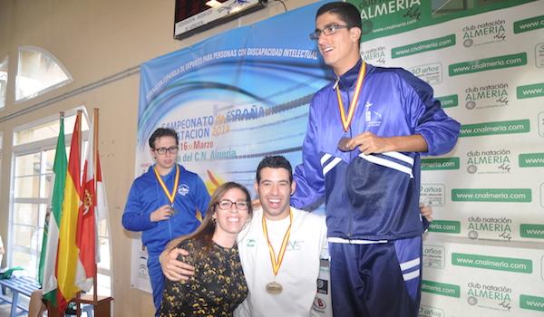 Campeonato de España natación adaptada