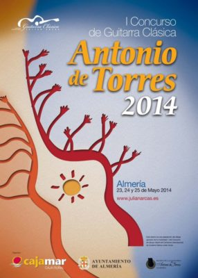 Cartel del Concurso Internacional de Guitarra Clásica