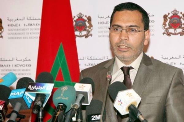 Mustapha Elkalfi, portavoz del gobierno marroquí