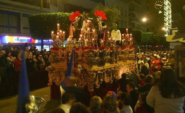 La Semana Santa de Almería, declarada Fiesta de Interés Turístico Nacional