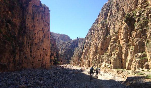 Almería ciclismo extremo en Marruecos