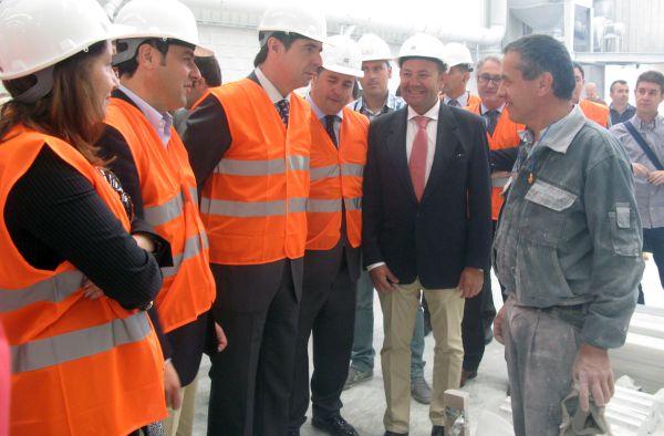 Visita del ministro soria a Almería
