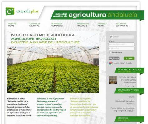 web industria auxiliar agricultura