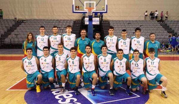 Campeonato de Andalucía baloncesto Almería
