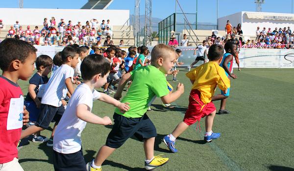 Atletismo popular e infantil Almería