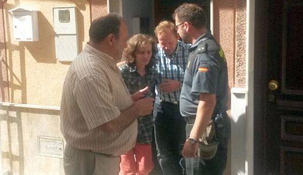 La guardia civil encuentra a la mujer desaparecida en Rágol