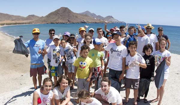 Windsurf y naturaleza en el Cabo de Gata