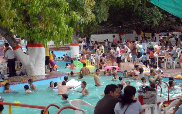 piscina colapsados