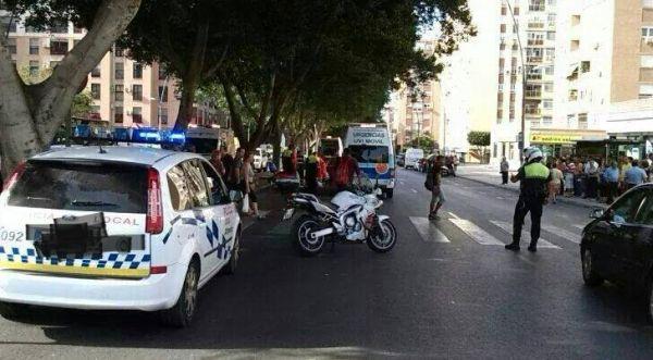 Atropello en Almería