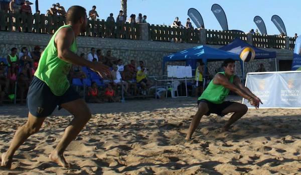 Campeonato de voleibol en la playa