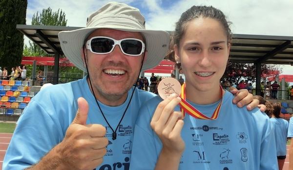 Atletismo Campeonato de España cantera