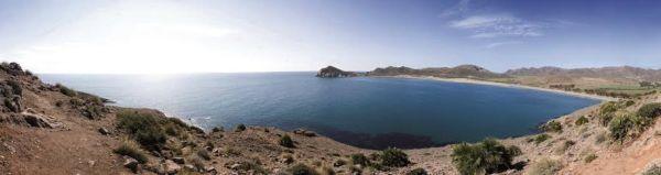 Playa de Los Genoveses en San José