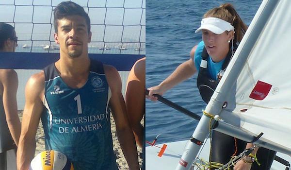Universidad de Almería voleibol y vela