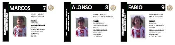 Selección de Almería Benjamín 3