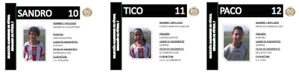 Selección de Almería Benjamín 4