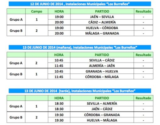 Selección de Almería Benjamín 7