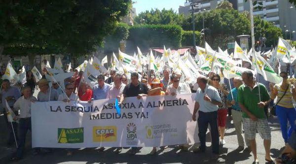 Manifestación Almería