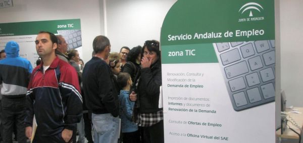 Paro en Andalucía