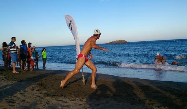 Levante de Almería verano natación