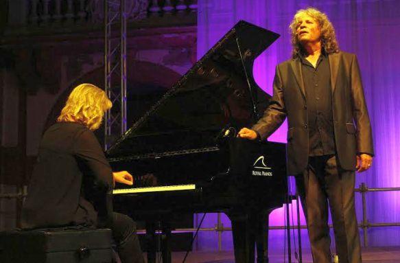 Mercé con la pianista Sofía