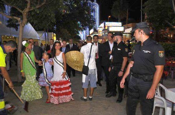 Policía en Feria
