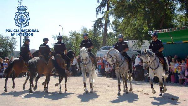 Policia a caballo
