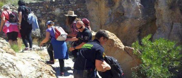 Los voluntarios de Protección Civil de Almería intervienen en casi 300 acciones preventivas hasta agosto
