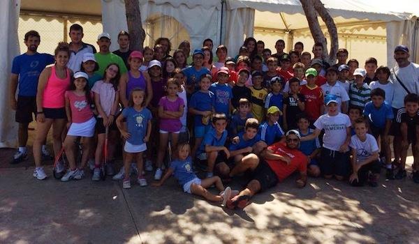 Club Natación especialista en tenis infantil de cantera