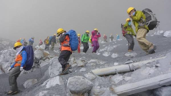 Erupcion Monte Ontake