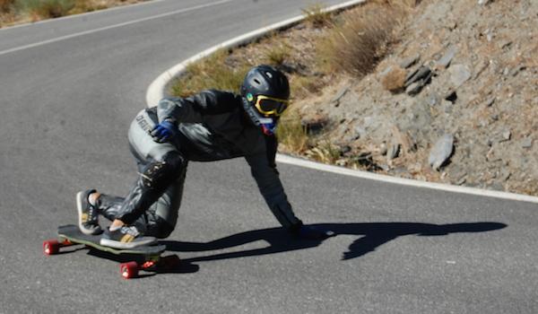 Deporte Extremo Almería descensos patinaje