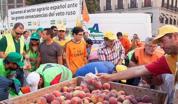 ASAJA, COAG y UPA en Madrid Agricultura