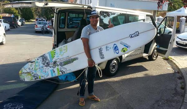 Surf El Ejido con Selección Española