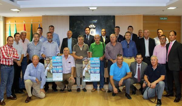 Poli Ejido - Real Madrid fútbol veterano