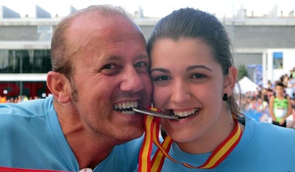 Atletas de Almería Atletismo Cristina Trejo
