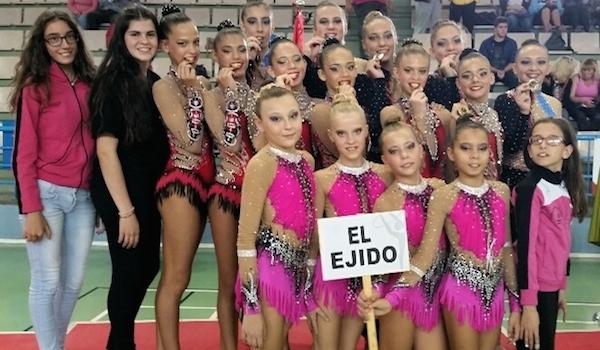 Gimnasia Rítmica de Almería en Granada