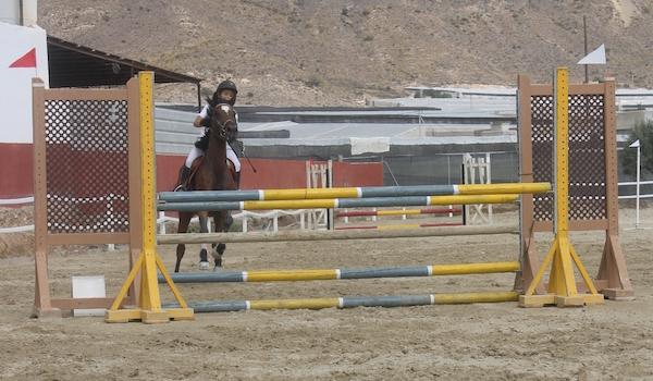 Liga provincial de Almería equitación