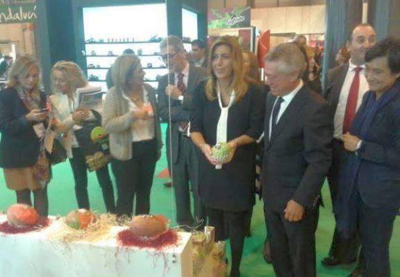 Susana Díaz, presente en la inauguración de la feria Fruit Attraction