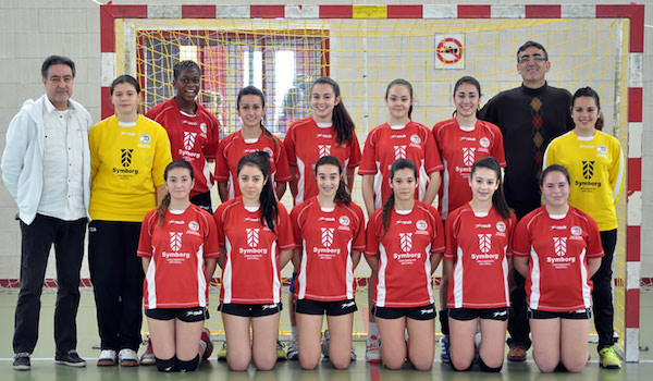 Selección de Andalucía con jugadoras de Almería