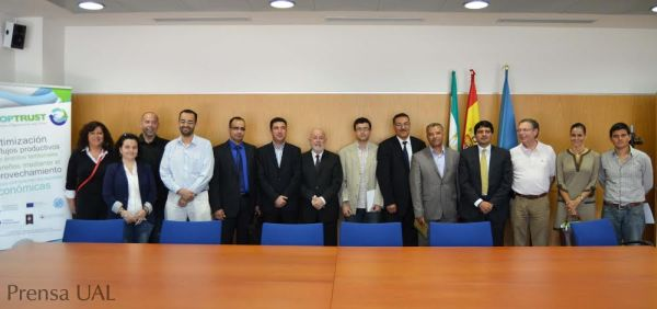 delegacion marroquí UAL