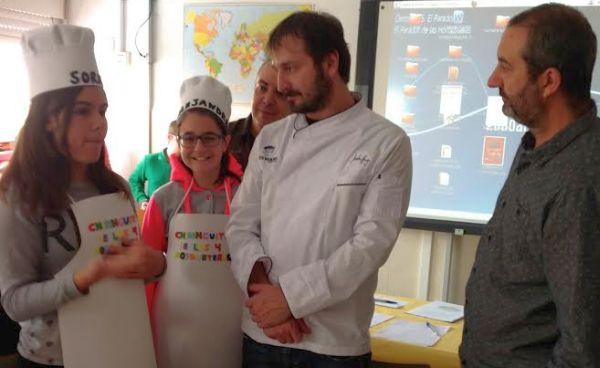 El chef Joseba Añorga, jurado del proyecto Master Chef