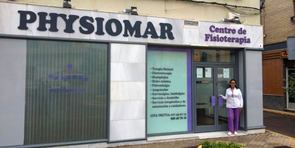 Centro de Fisioterapia Physiomar, en Balerma (El Ejido)