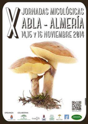 Cartel x jornadas micológicas Abla