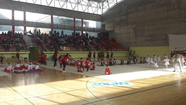 Carboneras, gimnasia Grupo Nexa