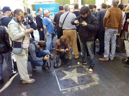 Estrella dedicada a Terry Gilliam en el Paseo de la Fama de la capital
