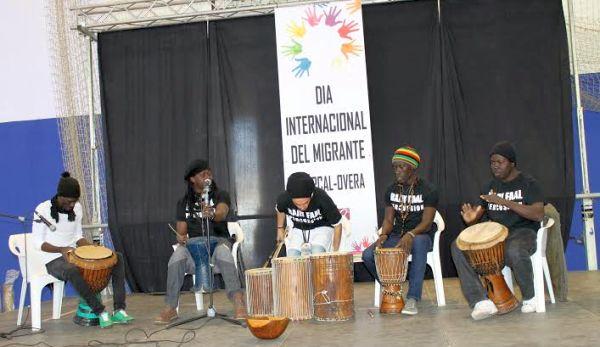 Grupo de música de Senegal para ambientar la tarde