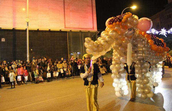 Cabalgata de Reyes Magos en El Ejido