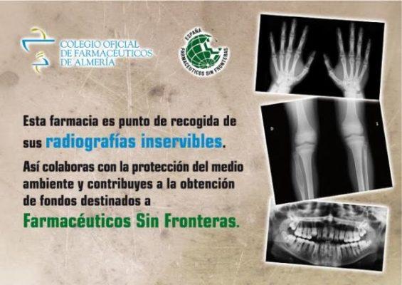 Cartel de la campaña de recogida de radiografías